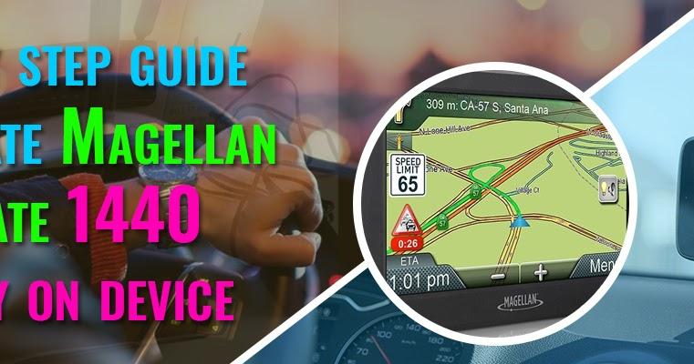 Magellan RoadMate 1440 Update