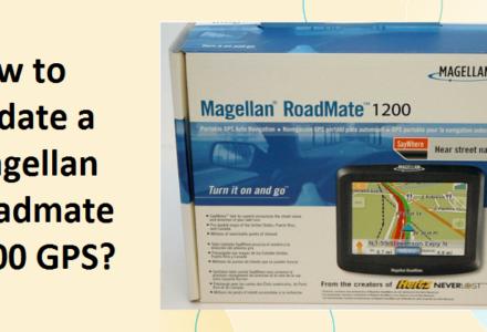 Magellan Roadmate 1200 Update
