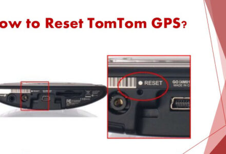 How to reset tomtom gps