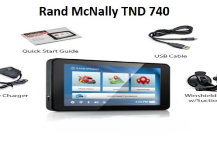 Rand McNally TND 740 Update