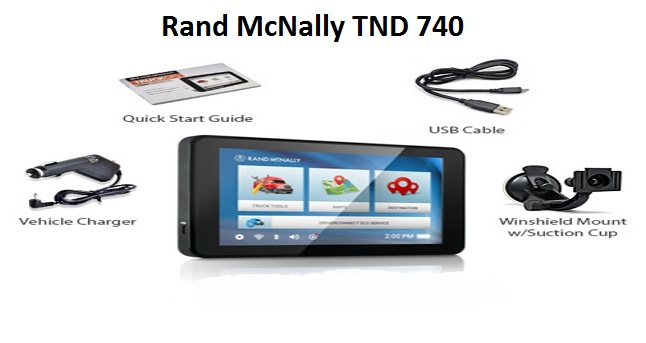 Rand McNally TND 740 Update