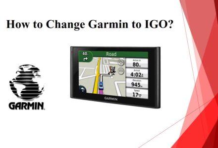 How To Convert Garmin To IGO