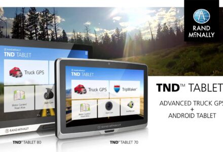 Rand McNally TND T80 Update